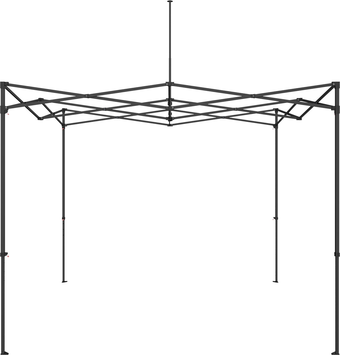 Economy Canopy Tent Kit solid color