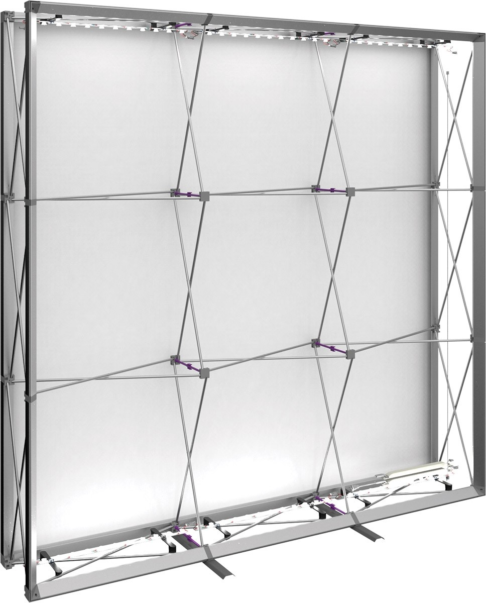 Embrace Backlit 8' Tension Fabric Display