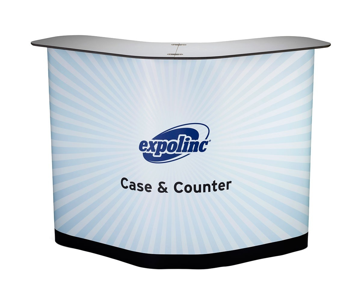 Expolinc Magnetic Pop Up 10' Straight