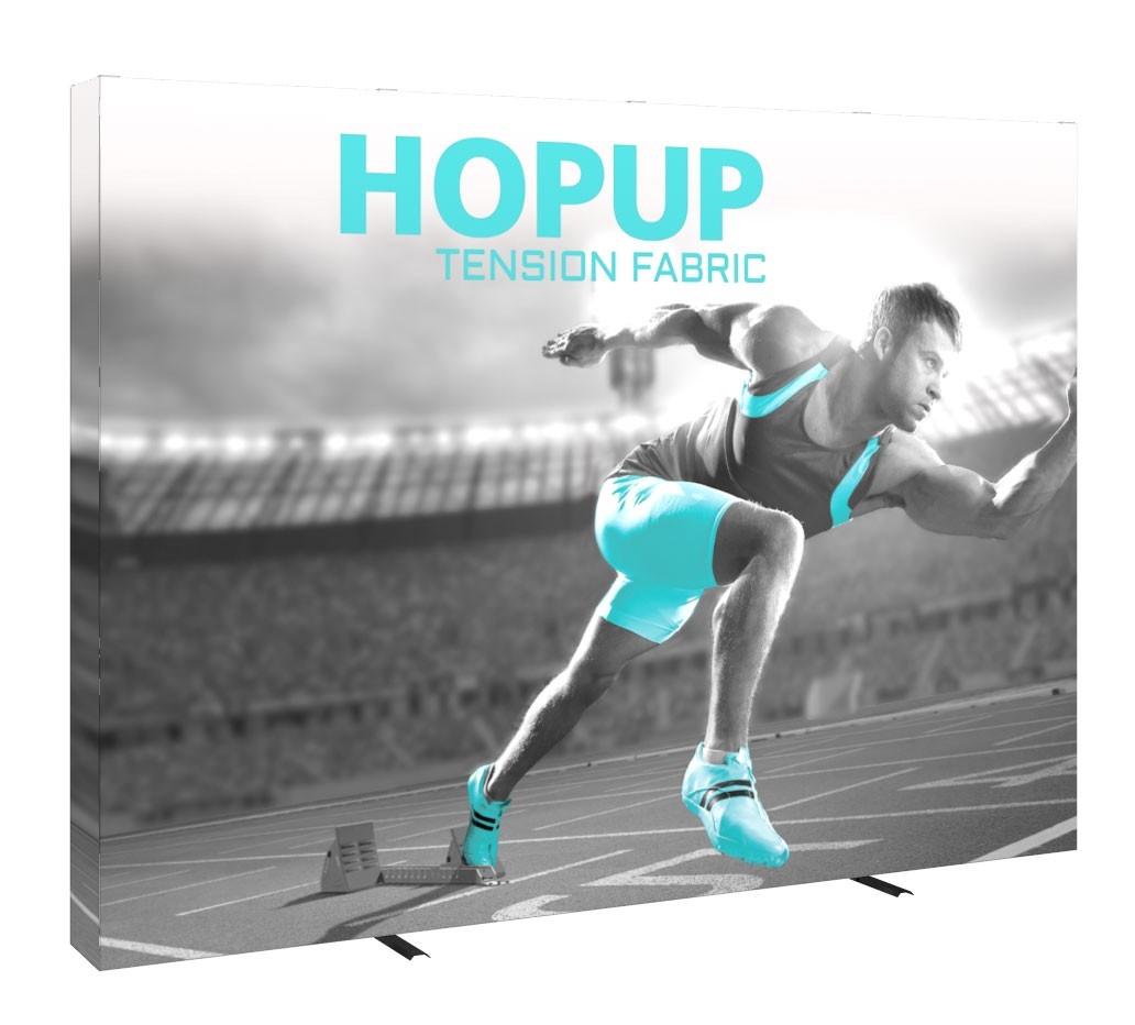 Hopup 4x3 Tension Fabric Pop Up Display