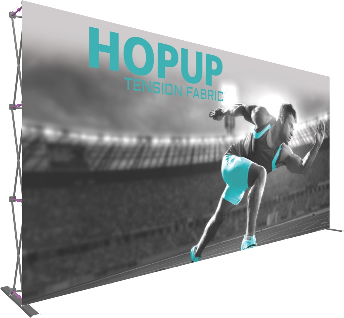 Fabric Pop Up Exhibition Stands : Hopup tension fabric pop up display
