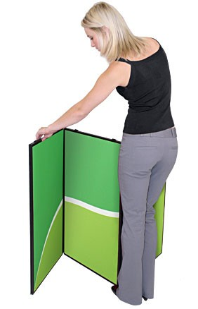 Horizon 8 Folding Panel Trade Show Display
