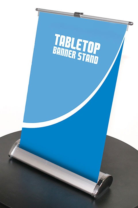 Nimbus 8 Table Top Retractable Banner Stand