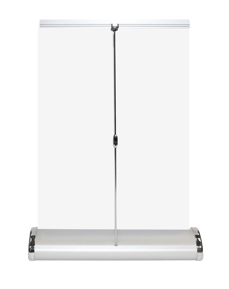 Nimbus 11 table top retractable banner stand for Table retractable