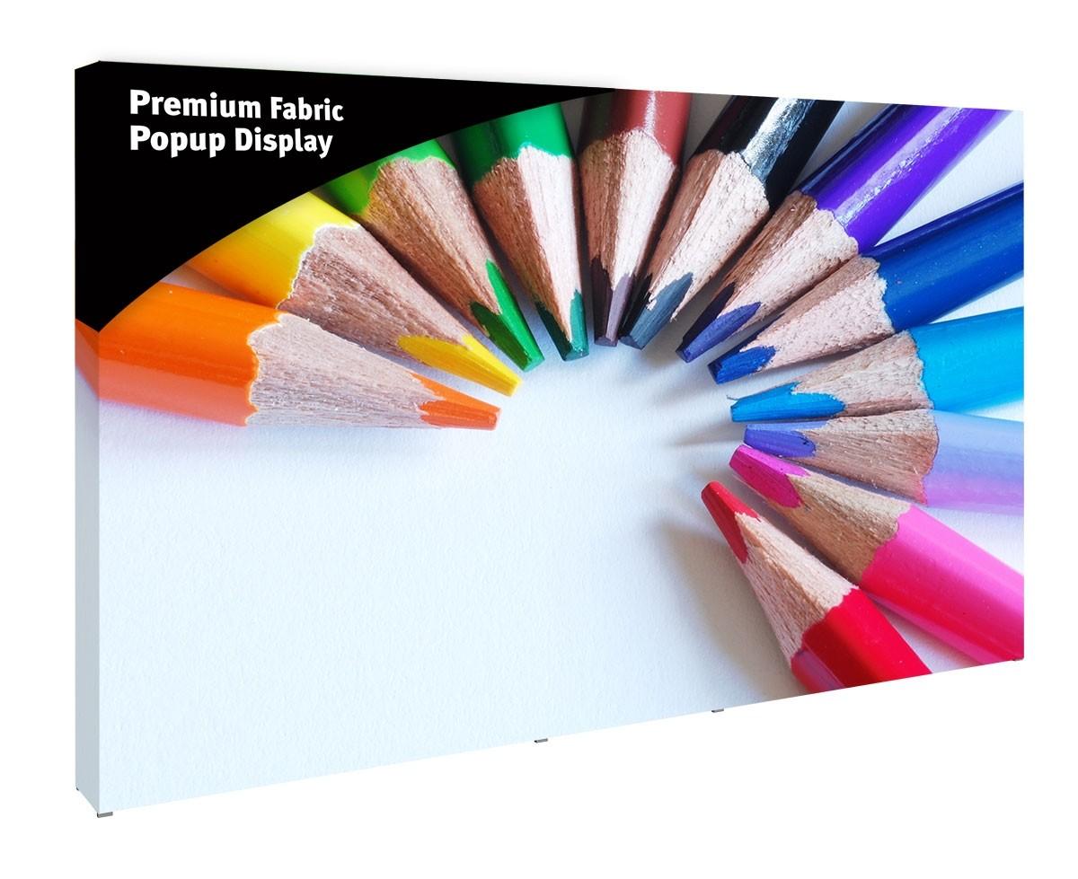 Premium Fabric Popup 5x3 Display