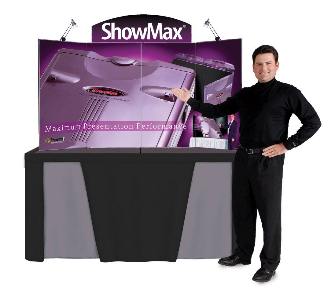 Ordinaire ... ShowMax Self Packing Table Top Display