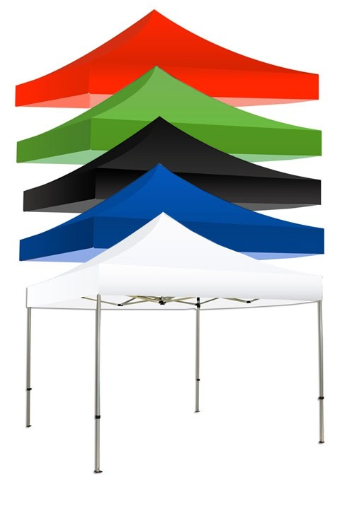 Canopy Tent Kit Solid Colors