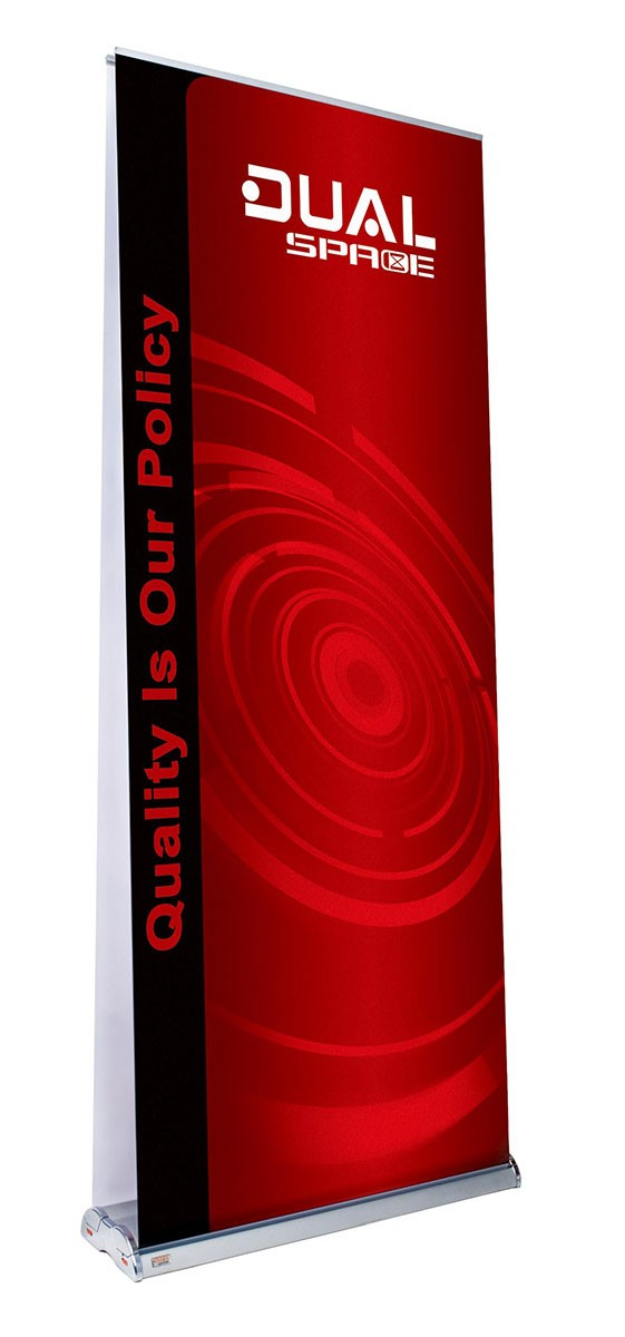 Space Dual 33 Double Sided Retractable Banner Stand