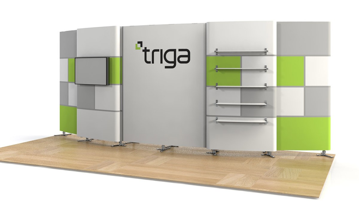 Exhibition Booth Package : Triga trade show booth package g