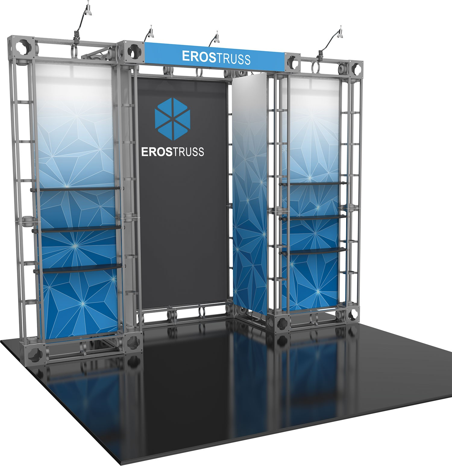 Exhibition Display System : Eros orbital express truss kit