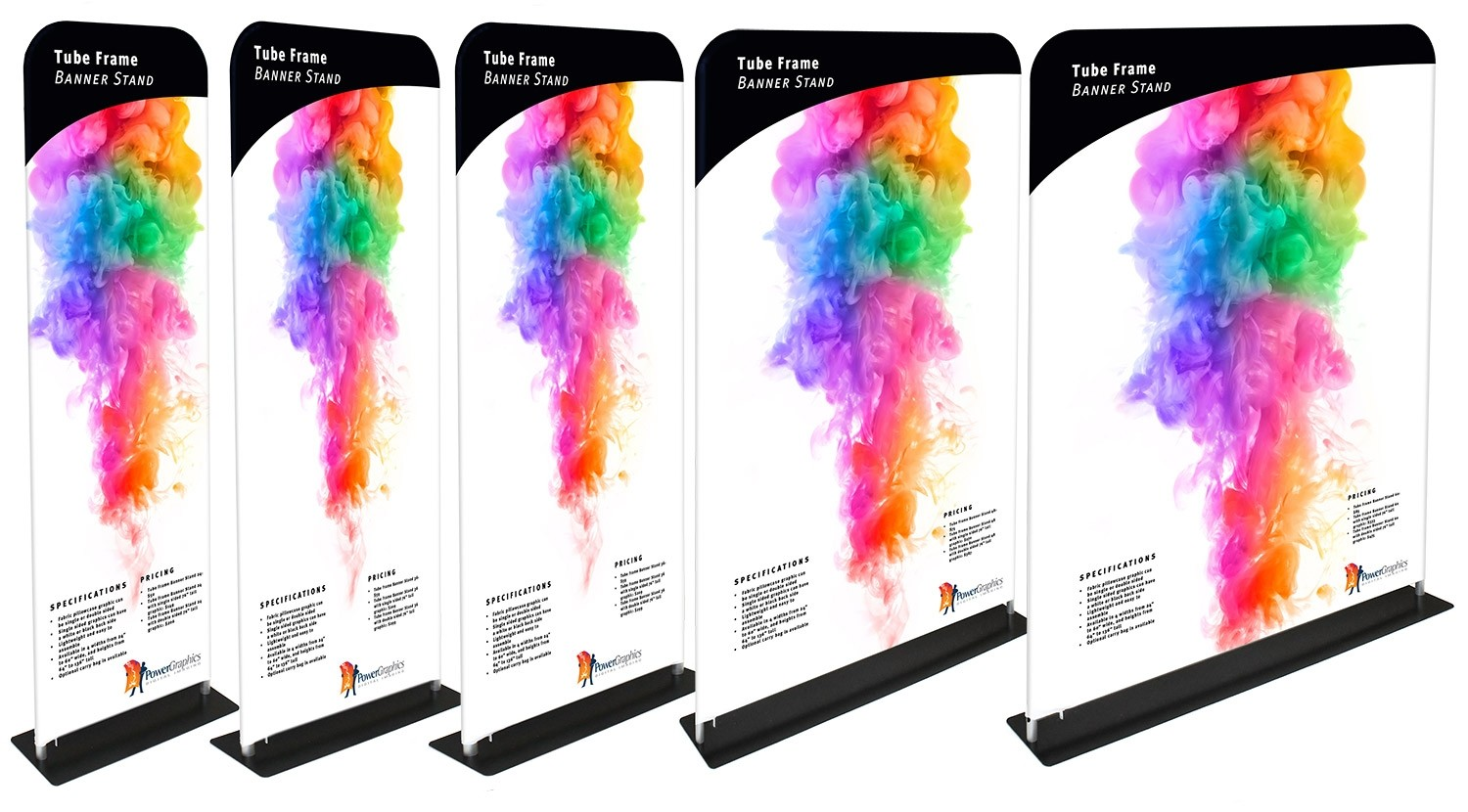 Tube Frame Banner 30 Tension Fabric Display