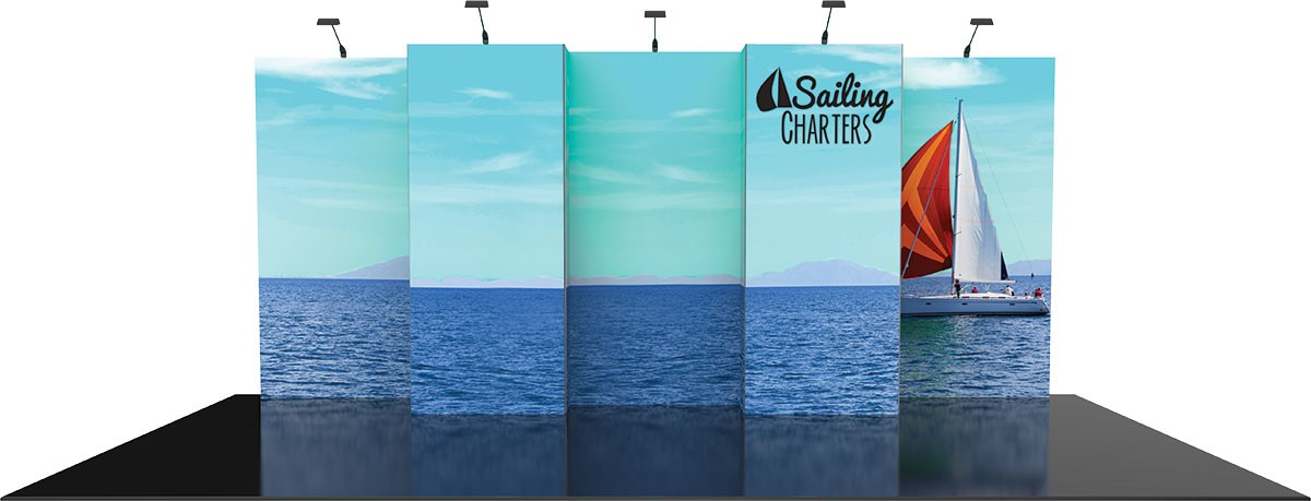 Vector Frame Exhibit Kit 6 Tension Fabric Display