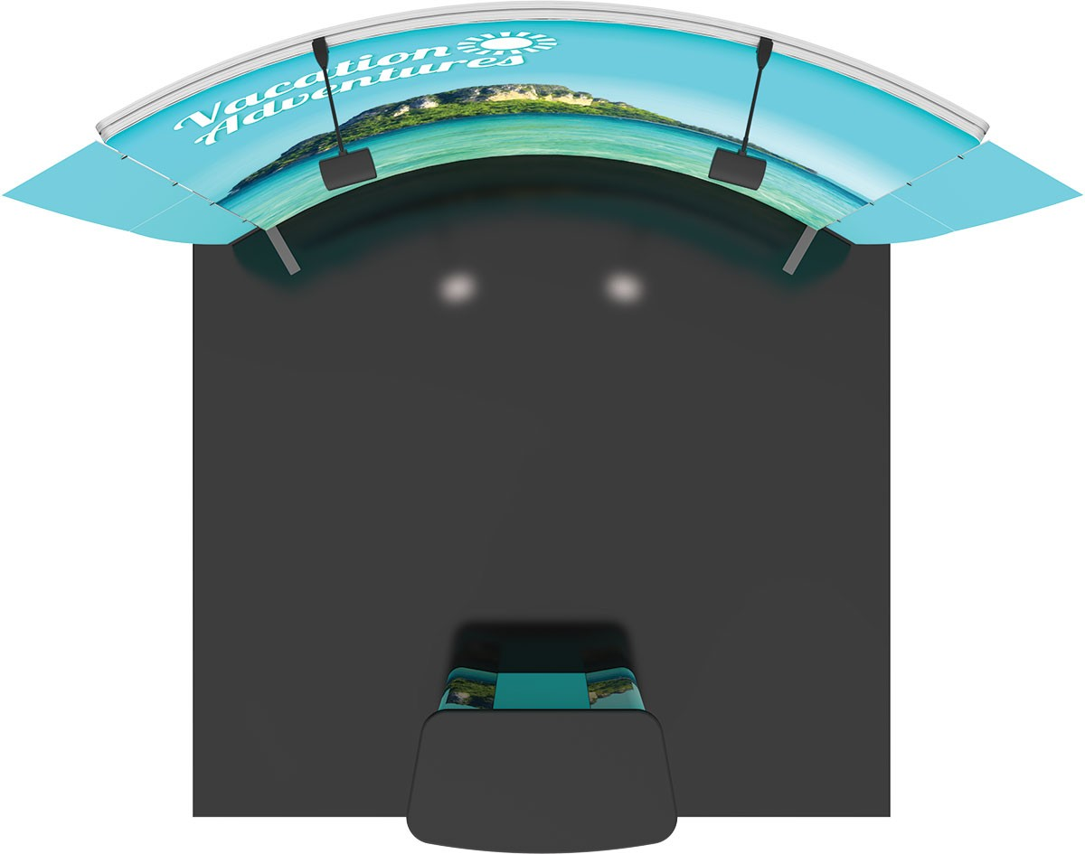 Exhibition D Vector : Vector frame exhibit kit tension fabric display