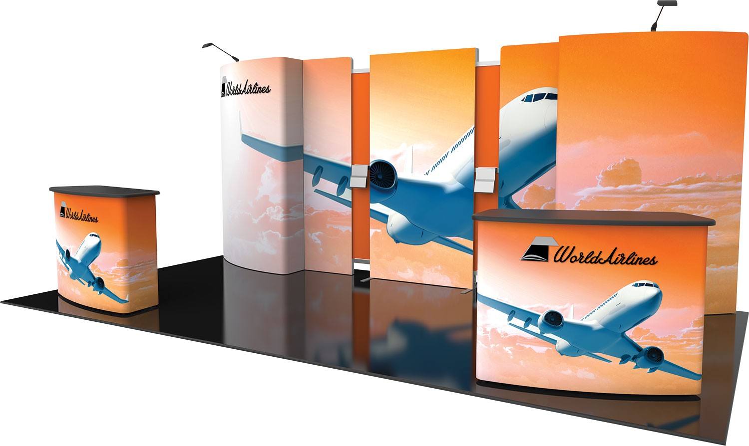 Fabric Exhibition Stand Vector : Vector frame exhibit kit a tension fabric display