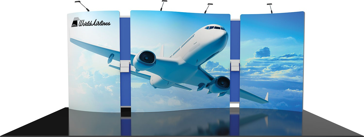 Vector Frame Exhibit Kit 20 Tension Fabric Display