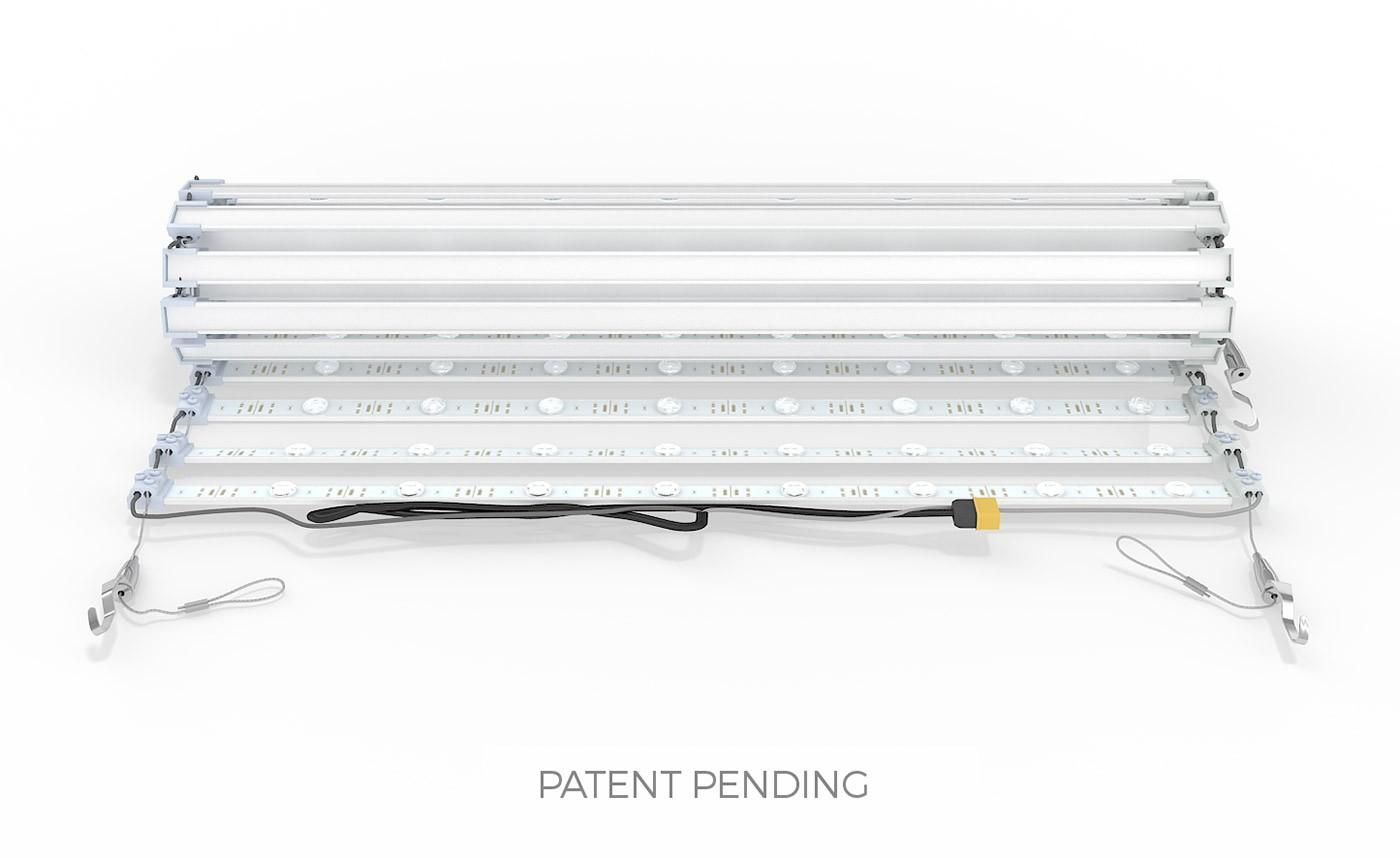 WaveLight 10' Premium Backlit Fabric Display