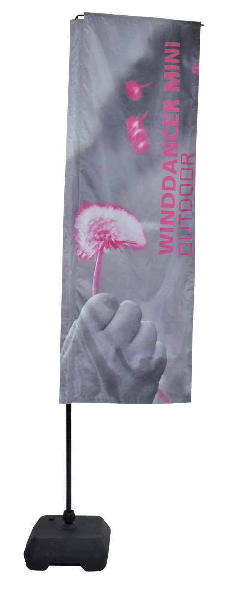 Wind Dancer Mini Flag Stand Outdoor Flag and Banner Pole