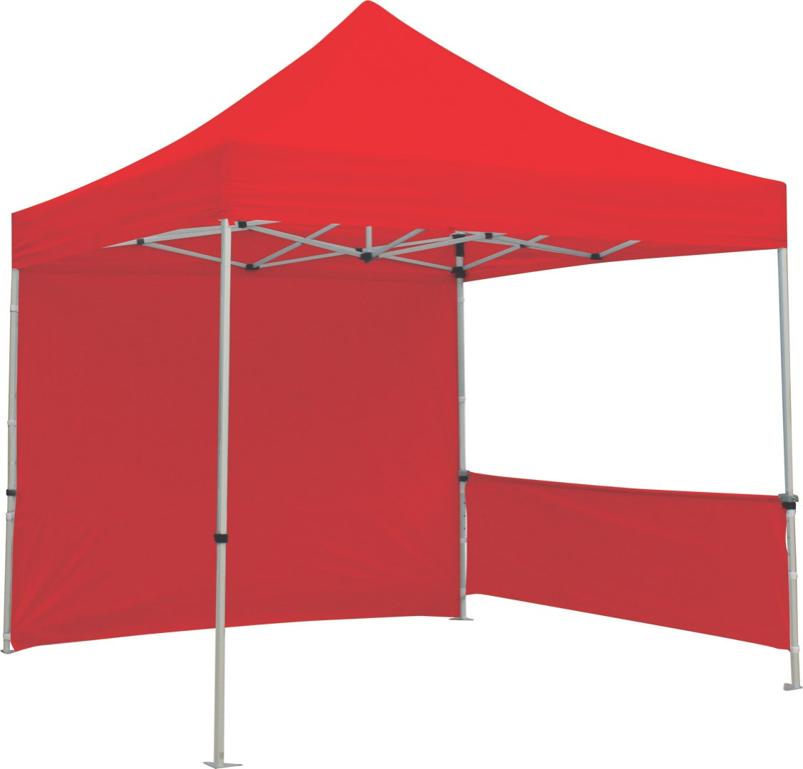 Canopy Tent Solid Color Half Wall