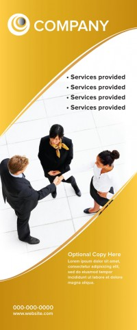 Banner Design - Business Gold