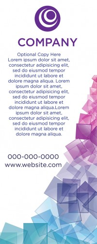 Banner Design - Cubes
