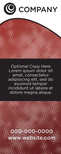 Banner Design - Red Screen