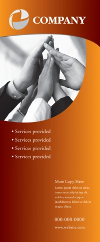 Banner Design - Services Copper