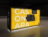 Casonara 200M Backlit Counter