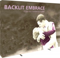 Embrace Backlit 4x3 Tension Fabric Display