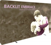 Embrace Backlit 5x3 Tension Fabric Display