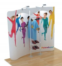 Emporium 3 Tension Fabric Display