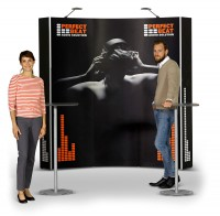 Expand 2000 Curved 3x3 Pop Up Trade Show Display
