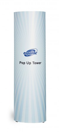 Expand 2000 Tower Pop Up Trade Show Display