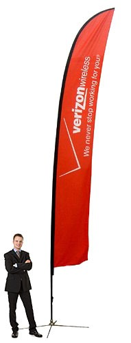 Feather Banner XL Outdoor Banner Stand