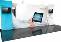 Formulate Designer Series 20 ft Kit 12 Fabric Trade Show Display