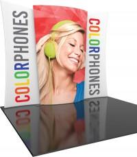Formulate Designer Series 10 ft Kit 5 Fabric Trade Show Display