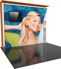 Formulate Designer Series 10 ft Kit 8 Fabric Trade Show Display