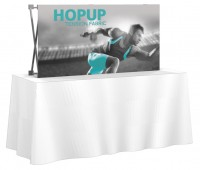 HopUp 2x1 Tension Fabric Table Top Display