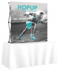 HopUp 2x2 Tension Fabric Table Top Display