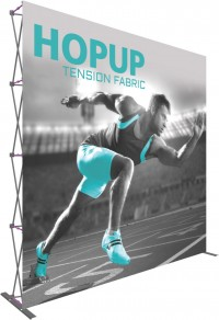 Hopup 5x3 Tension Fabric Pop Up Display