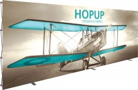 Hopup 8x3 Tension Fabric Pop Up Display