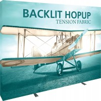 Backlit Hopup 4x3 Tension Fabric Display