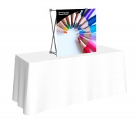 Premium Fabric Popup 2.5' Table Top Display