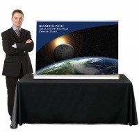 QuickSilver Pro 60 Table Top retractable banner stand