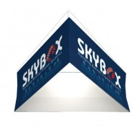 Triangle 8' Hanging Fabric Structure Replacement Graphic