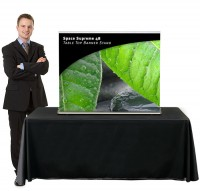 Space Supreme 48 Table Top Retractable Banner Stand