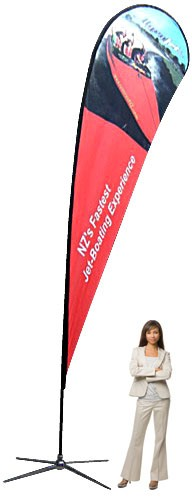 Teardrop Banner XL Outdoor Banner Stand