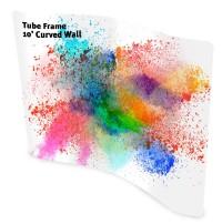 Tube Frame 10' Curve Wall Pillowcase Fabric Display