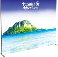 Vector Frame Backlit Banner 10x8 Illuminated Tension Fabric Display