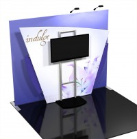 Vibe Kit 6 10' Tension Fabric Trade Show Display