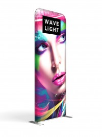 WaveLight 3' Premium Backlit Fabric Display